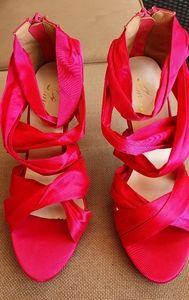 Pink Stillettos, Sz 37, great condition